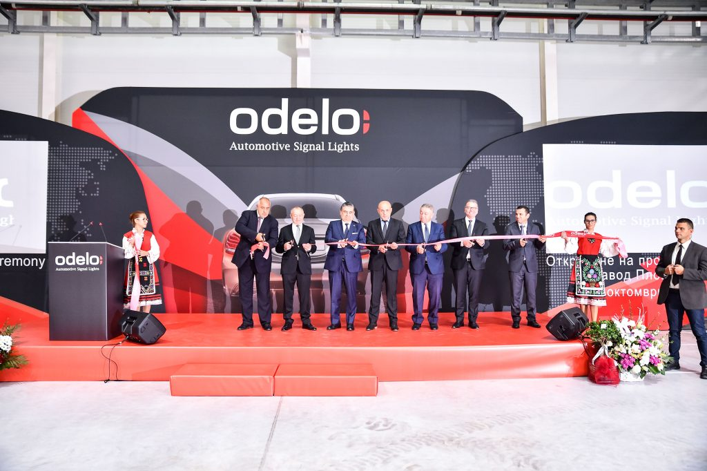 Odelo Bulgaria officially opened its manufacturing plant for signaling lights
